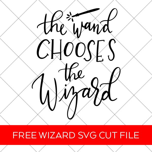 Harry Potter Wand SVG