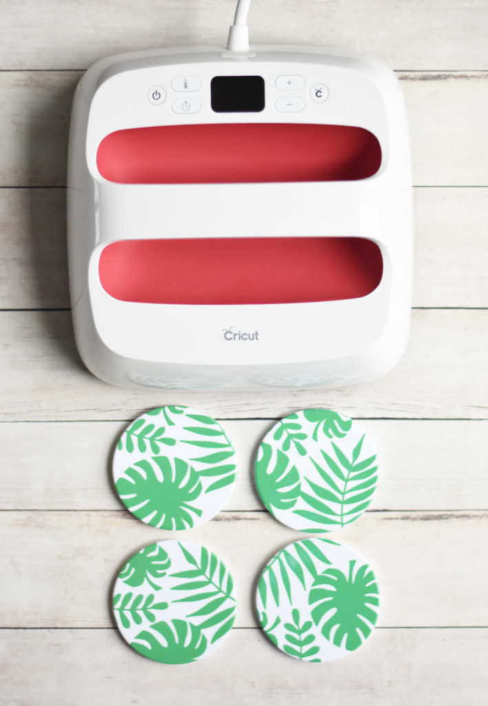 Cricut Infusible Ink Ceramic Coasters by Pineapple Paper Co.