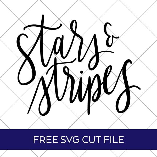 Stars and Stripes SVG Cut File