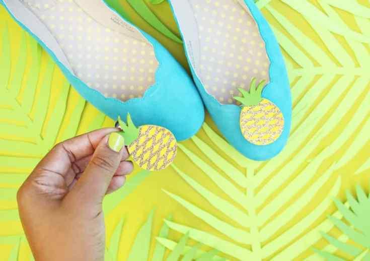 DIY: Craft My Flats: Pineapples