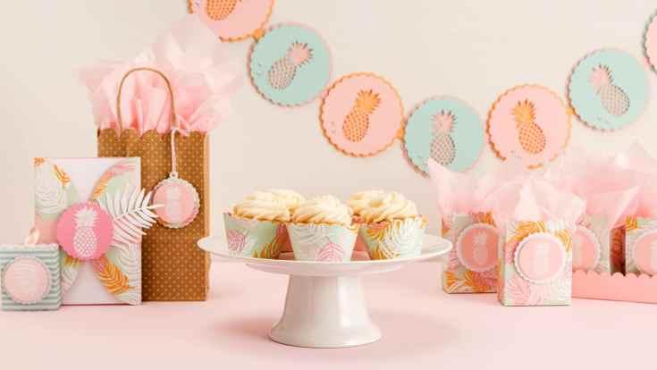 Martha Stewart Cricut® Pineapple Party Garland