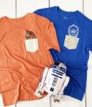 Make a Star Wars Custom Pocket T Shirt by Pineapple Paper Co.