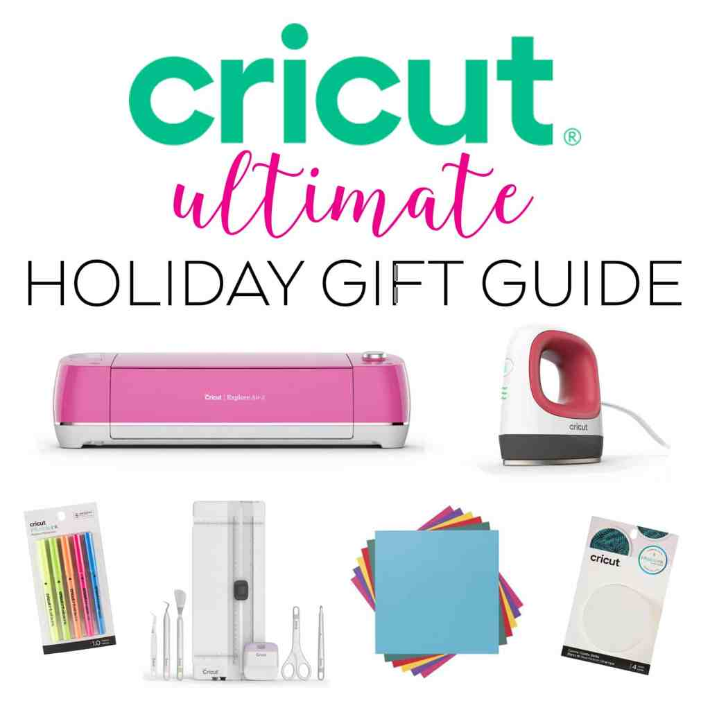 Cricut Christmas and Holiday Gift Ideas from Pineapple Paper Co.