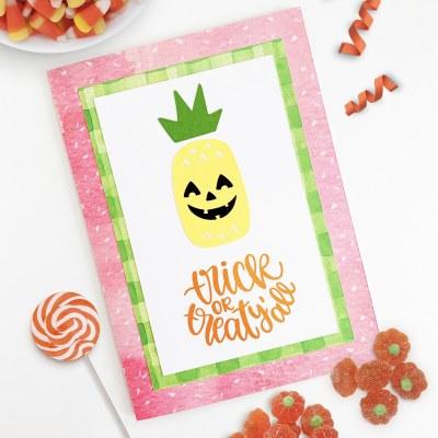 Handmade Halloween Cards with the Cricut Machine