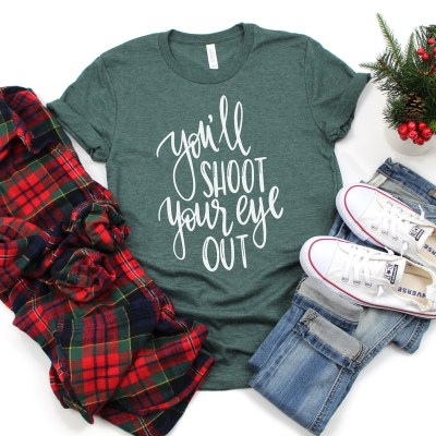 You'll Shoot Your Eye Out Christmas Story SVG