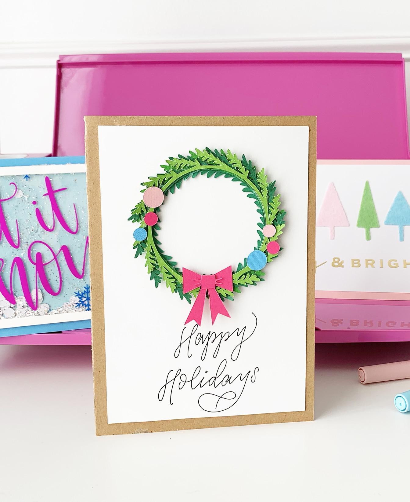 DIY Christmas Cards - Cricut Explore Air 2 Projects ...