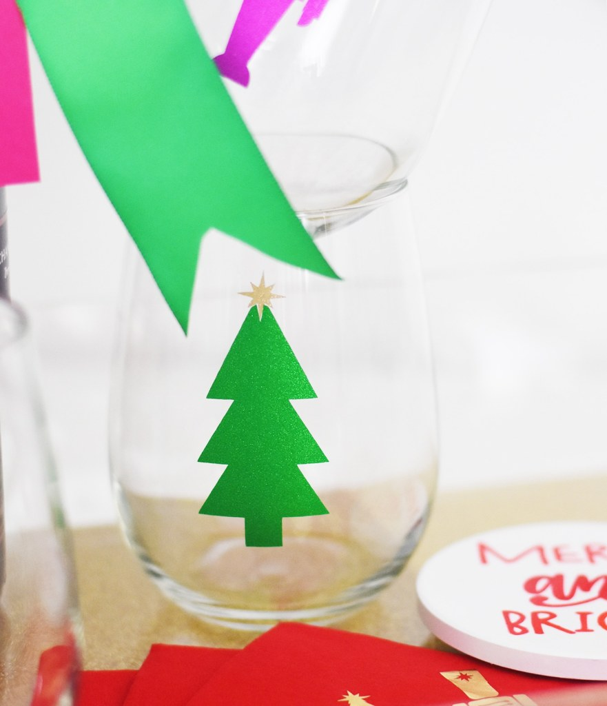 Make your Own Christmas Hostess Gift Ideas with Cricut by Pineapple Paper Co.