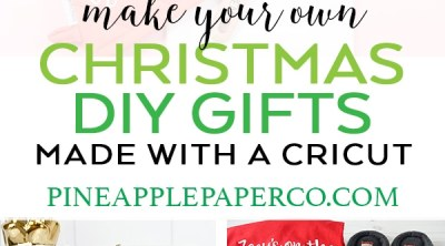 DIY Christmas Gift Ideas from Pineapple Paper Co.