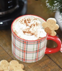 DIY Gingerbread Coffee Syrup Recipe to Make a Gingerbread Latte for the Holidays by Pineapple Paper Co.