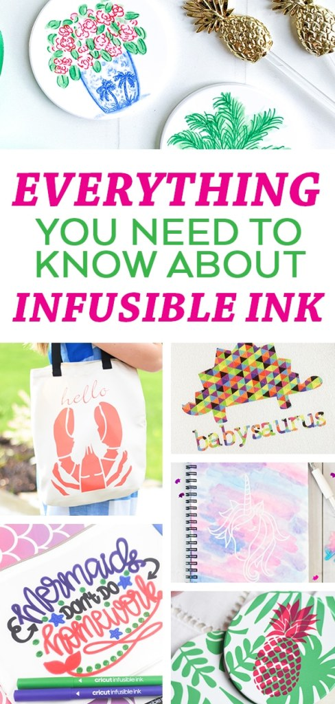 Everything you Need to Know about Cricut Infusible Ink - A Complete Guide by Pineapple Paper Co.