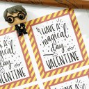 Printable Harry Potter Valentine Cards