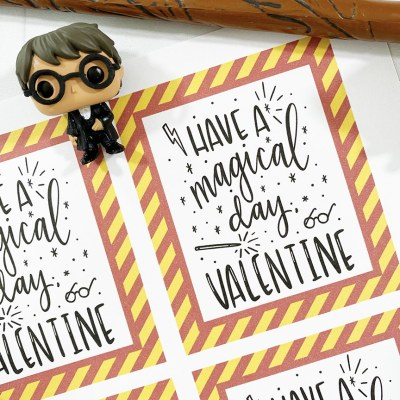Free Printable Harry Potter Valentines