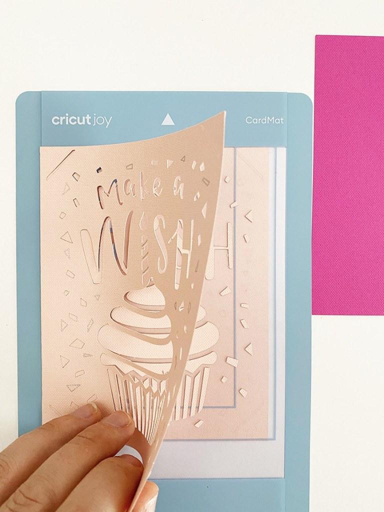 Cricut Joy Card Mat Birthday Card Tutorial