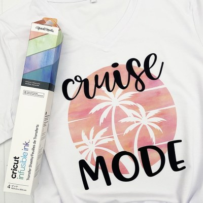 How to Make a Shirt with Cricut Infusible Ink