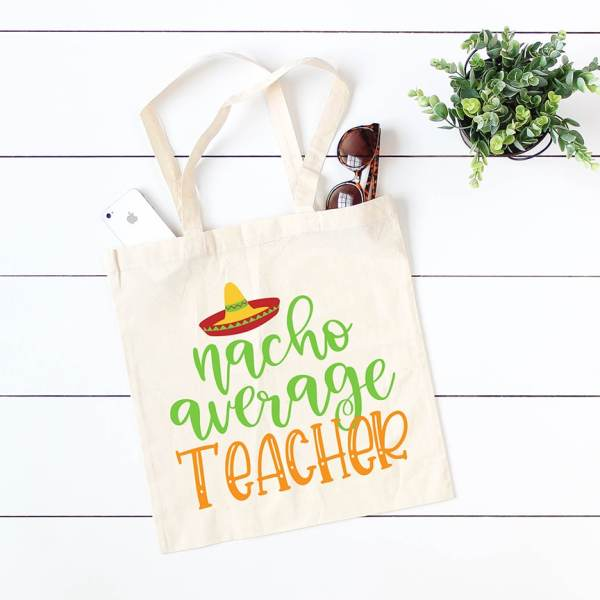 Nacho Average Teacher Cinco de Mayo SVG Cut File for Cricut & Silhouette by Pineapple Paper Co.