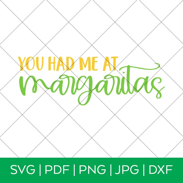 You Had Me at Margaritas Cinco de Mayo SVG File by Pineapple Paper Co.