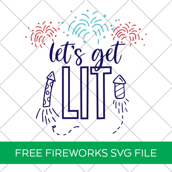 Free Let's Get Lit SVG by Pineapple Paper Co.
