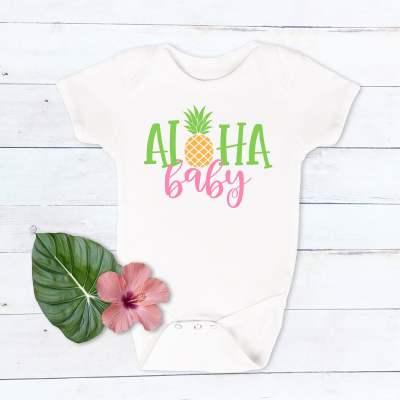 Free Aloha Baby SVG