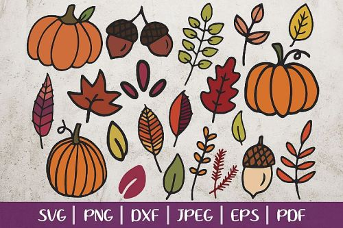 Free Fall Svg Files For Cricut Silhouette Pineapple Paper Co