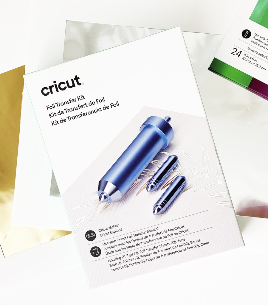 Cricut Foil Transfer System Packaging
