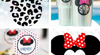 Minnie Mouse SVG Files to Make Cricut Crafts
