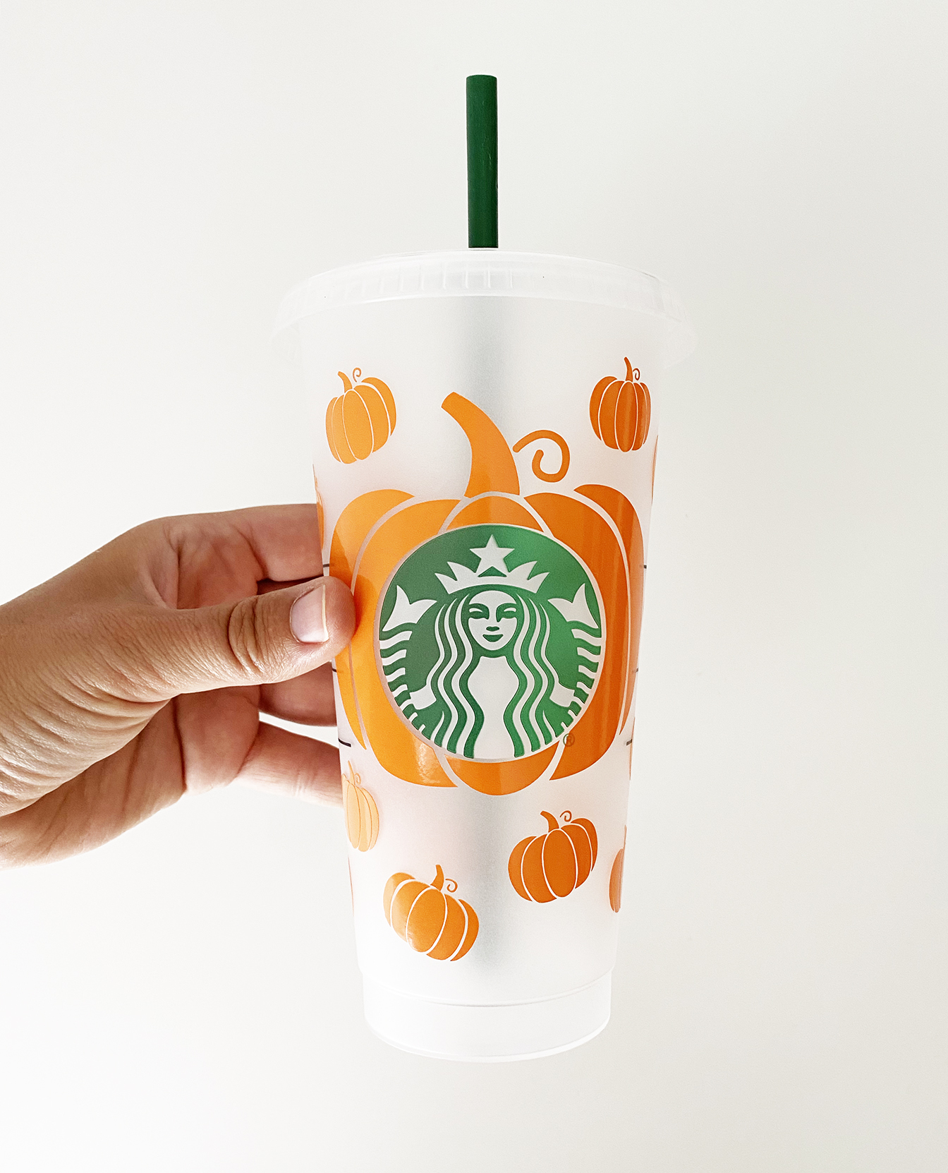 Diy Fall Starbucks Cold Cup Vinyl Decal Pineapple Paper Co