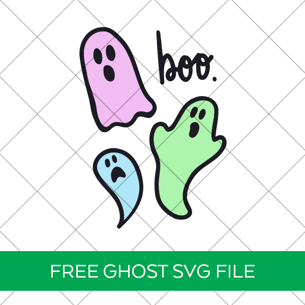 Free Ghost SVG by Pineapple Paper Co.