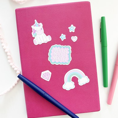 Free Printable Unicorn Stickers