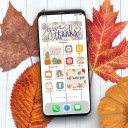 Free Thanksgiving Widget and App Icons