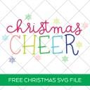 Free Christmas Cheer SVG