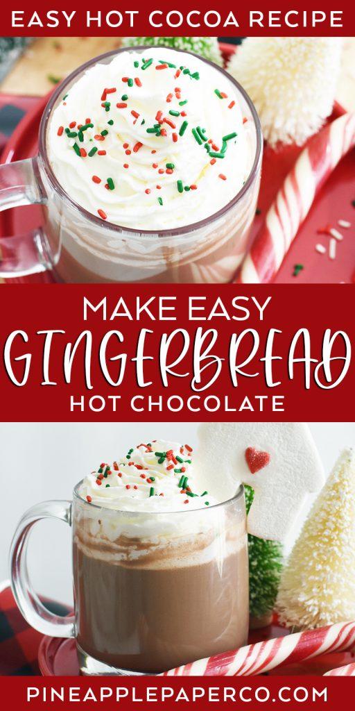 Gingerbread Hot Chocolate Recipe