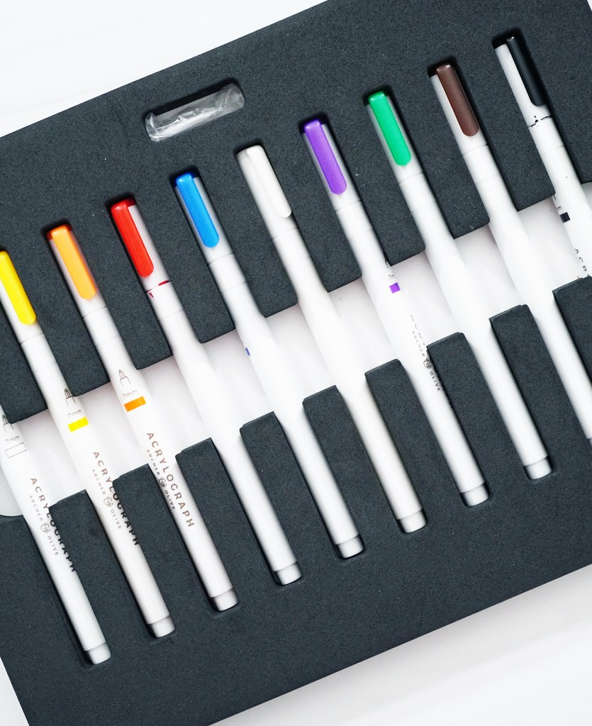 Archer & Olive Acrylograph Pens for Journaling