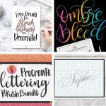 4 Free Procreate Brush images in Square
