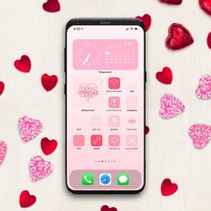 Valentine iPhone Custom Home Screen