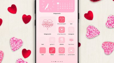 Valentine iPhone Custom Home Screen