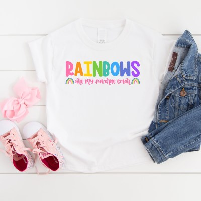 Rainbows Are My Favorite Color SVG