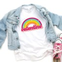 Free Rainbow Valentine SVG File