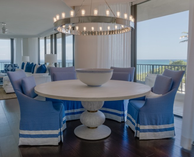 coastal slipcovered chairs