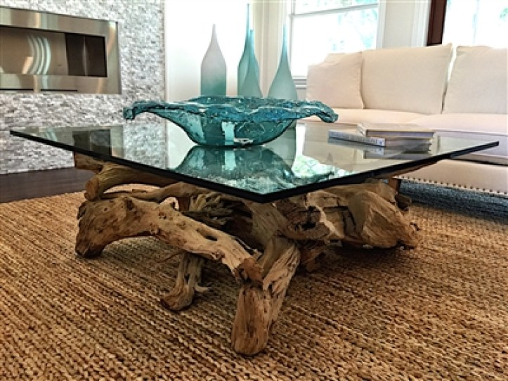 Custom Driftwood Coffee Table