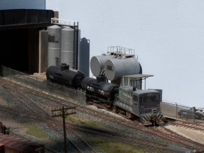 Shunting a the Ewing Oil depot