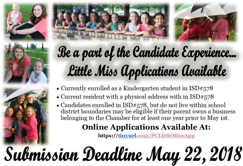 Little Miss Application Announcement