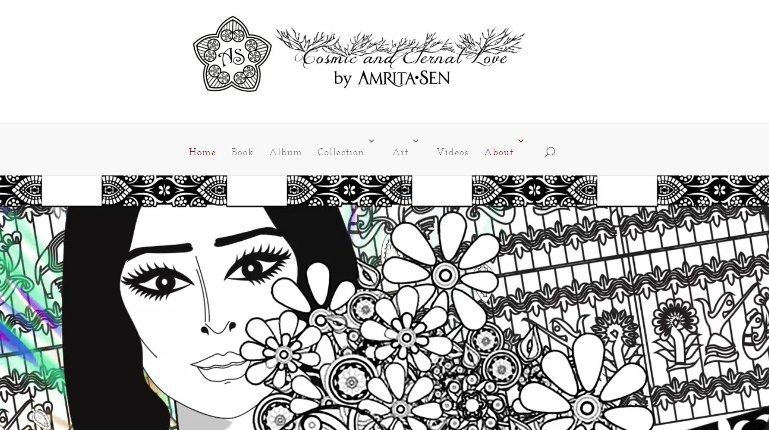 Compliments From Visual Artist & Musician Amrita Sen