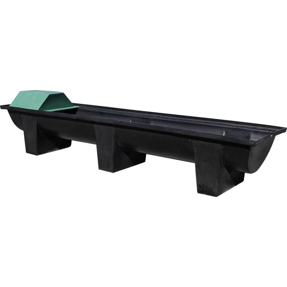Stock Trough 2400 - with cover and float - Water Tanks Hobart - Pinecrest Products