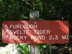 New Trail signs going up