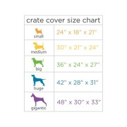 Crate Cover Size Chart