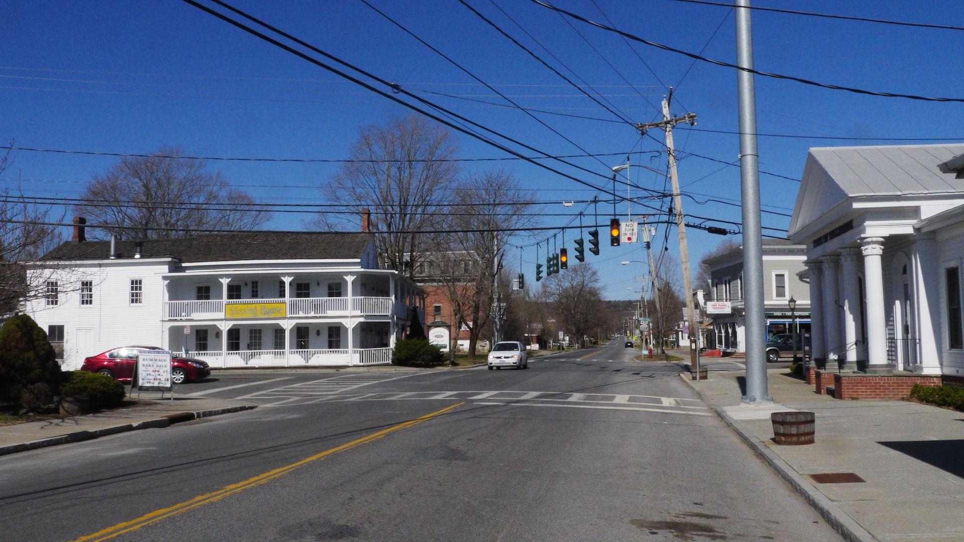 Main Street Intersection, Pine Plains, NY