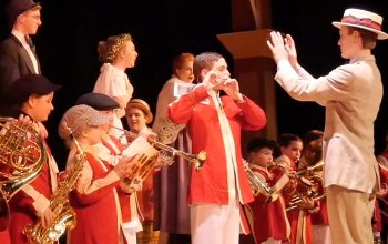 It Takes a Play to Make a Community:  Backstage at The Music Man