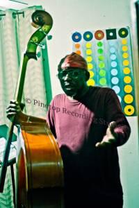 Freddie Williams playing Bass