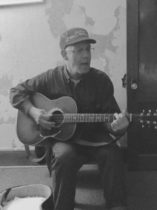 Cog - Playing Guitar at PineTop Recording Studio