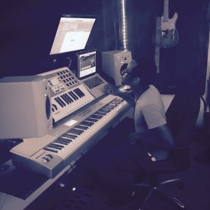 Jared creating dope beats